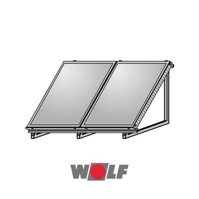 ΒΑΣΗ ΤΑΡΑΤΣΑΣ ΓΙΑ 2 ΗΛΙΑΚΟΥΣ ΣΥΛΛΕΚΤΕΣ WOLF TOPSON F3-1/CFK-1
