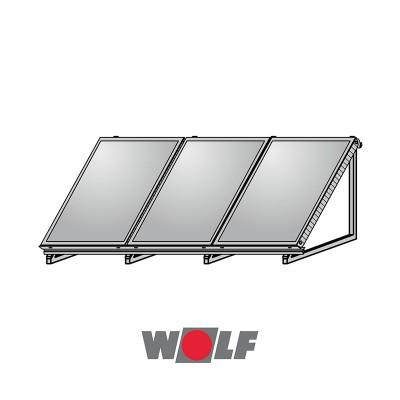 ΒΑΣΗ ΤΑΡΑΤΣΑΣ ΓΙΑ 3 ΗΛΙΑΚΟΥΣ ΣΥΛΛΕΚΤΕΣ WOLF TOPSON F3-1/CFK-1